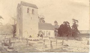 Fingest Churchyard in the 1920s